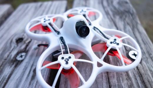 【Emax Tinyhawk】超パワフル1SブラシレスWhoop『Emax Tinyhawk』。モーター&ペラが丈夫なフレームにガードされ1S練習機としてオススメ!
