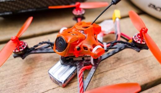 【Toothpick】はじめてのToothpick『Eachine RedDevil』。Whoopとは別物な飛びを見せてくれCaddx Turbo EOS2カメラ&200mW出力VTX搭載とスペックも高く入門機として最適!