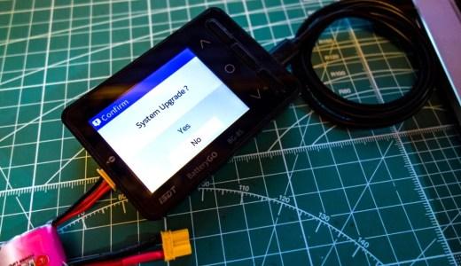 【iSDTファームウェアアップデート】バランス充電器『iSDT 608AC』、バッテリーチェッカー『iSDT BG-8S』本体ファームウェアアップデート方法!