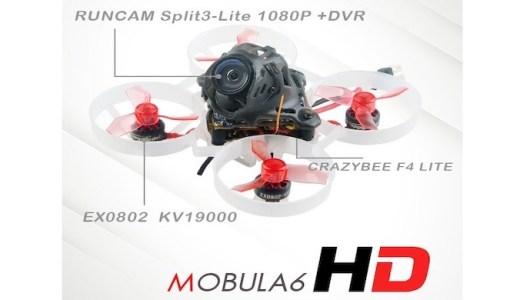 Happymodel Mobula6 HDがまもなく登場!