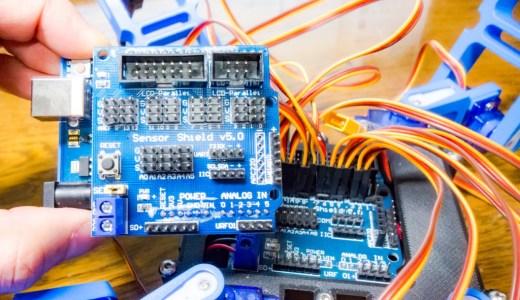 【Arduino入門編⑭】センサーシールド(Sensor Shield)を使ってみる!