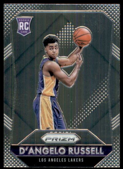 2015-16 Panini Prizm #322 D'Angelo Russell RC