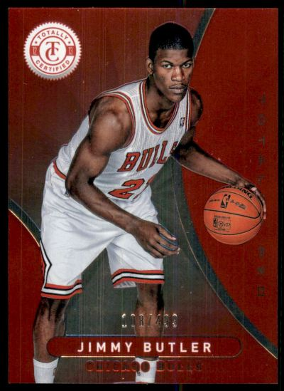 2012-13 Totally Certified Red #256 Jimmy Butler RC /499