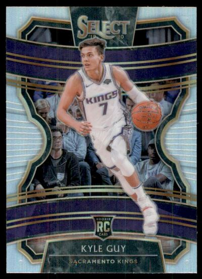 2019-20 Select Prizms Silver #7 Kyle Guy RC