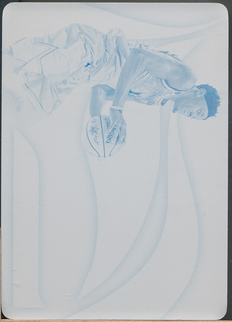 2019-20 Immaculate Special Event Mem Printing Plate Cyan #29 Pascal Siakam /1