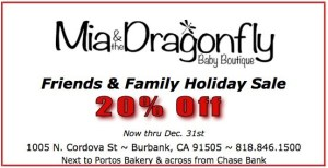 Mia & The Dragonfly Holiday Sale!