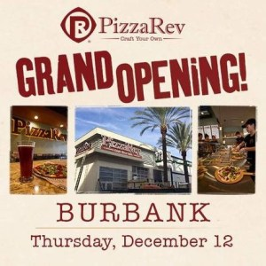 Pizza Rev Almost Ready To Open In Downtown Burbank