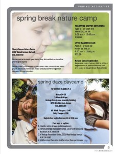 Spring Break Nature Camp At Stough Canyon