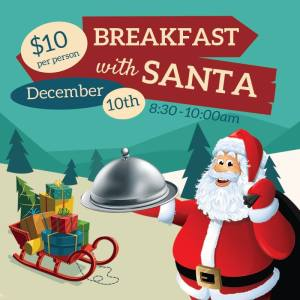 Breakfast With Santa @ Burbank Town Center Food Court  | Burbank | California | United States