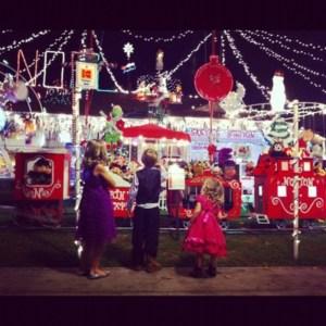 Christmas Lights In Burbank California