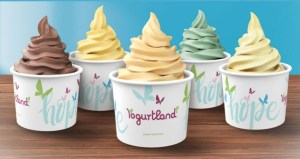 Yogurtland Celebrates 5 New Flavors With The 'Hope Cup' For Women and Children In Need
