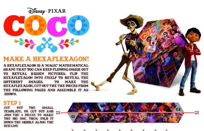 Explore Disney Pixar's, 'Coco' With These Family Activity Sheets!