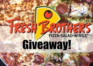 It's #NationalPizzaMonth, And I'm Giving Away FREE Fresh Brothers' Pizza Every Week In October To Celebrate!