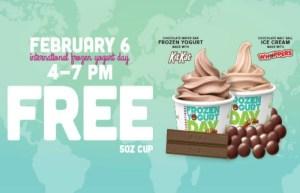 Celebrate International Frozen Yogurt Day At Yogurtland With A FREE, Cool Treat!