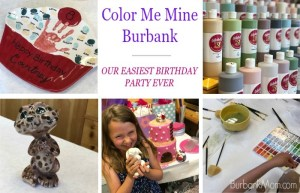 Color Me Mine Burbank Made Our Birthday Party Very Easy, And A Favorite!