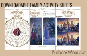 The Nutcracker and the Four Realms Downloadable Family Activity Sheets