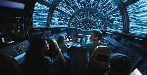 Millennium Falcon Star Wars Land