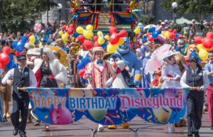 Happy 64th Birthday Disneyland Parade