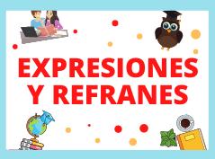 Expresiones y refranes en español