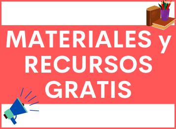 Materiales y Recursos GRATIS para aprender español