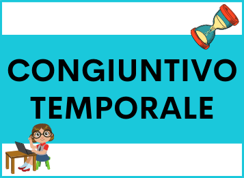 Congiuntivo frasi subordinate temporali spagnolo
