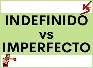 Differenze tra Pretérito IMPERFECTO e Pretérito INDEFINIDO