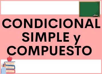 Condicional simple en español