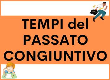 TEMPI del PASSATO con CONGIUNTIVO in spagnolo