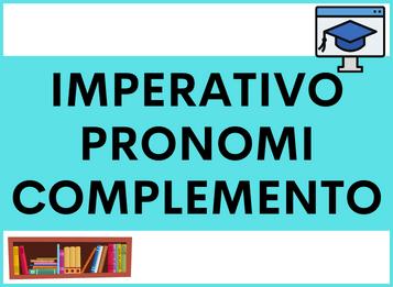 Imperativo con i Pronomi di Complemento (diretti e indiretti) in spagnolo