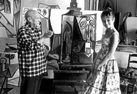 Birbirleriyle çok alakasız gözükmelerine rağmen Brigitte Bardot ve Pablo Picasso 1956 yılında Cannes'da buluşmuşlardı.