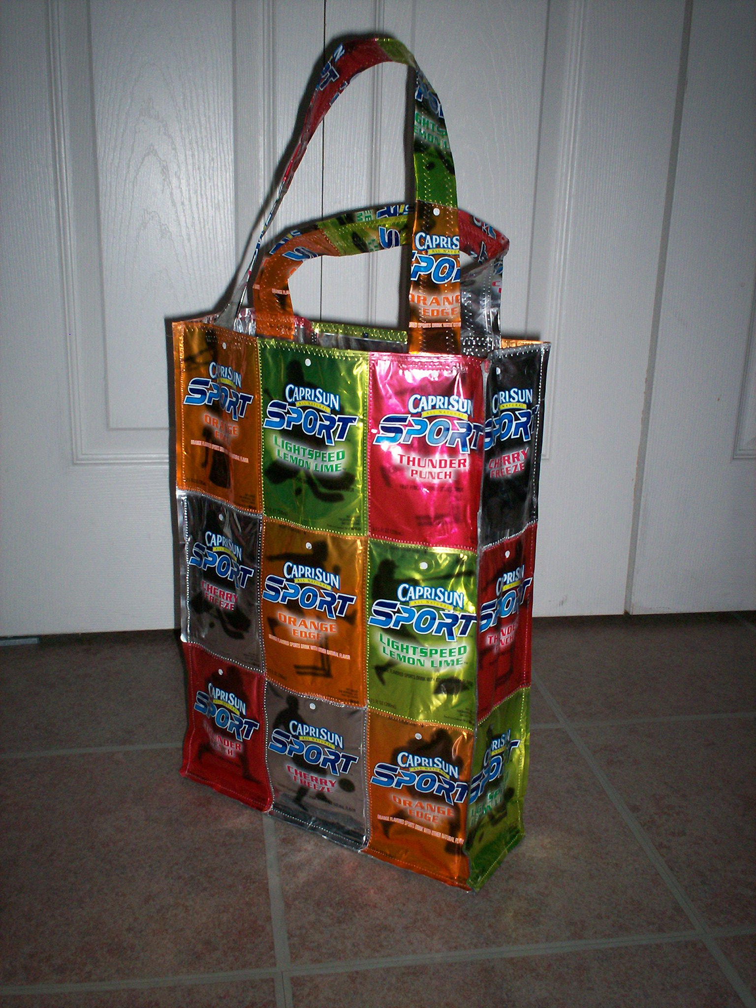 Recycled Capri Sun Bags Sewing Projects