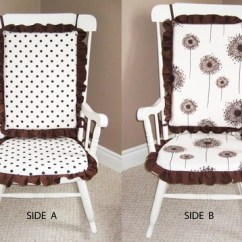 Polka Dot Rocking Chair Cushions Office Executive Chairs Coimbatore Reversible Sewing Projects Burdastyle Com