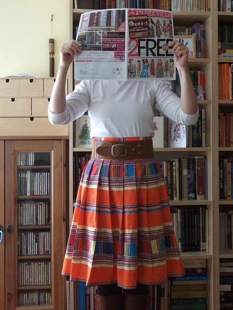 Cape Town to Canada Venda Skirt  Sewing Projects