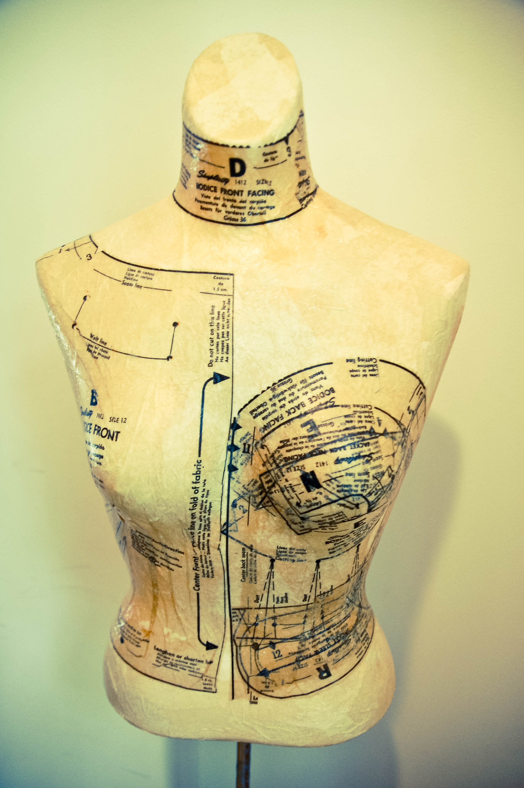 Diy Dress Form From Mannequin Sewing Projects