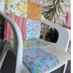 Chair Cover Quilting Outdoor High Easy Diy Patchwork Covers Sewing Projects Burdastyle Com