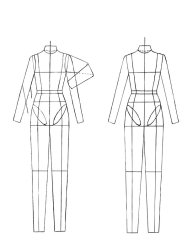 technical flat croquis drawing sketch figurine croqui sketches drawings template flats burdastyle female templates figure clothes draw garment illustration illustrations