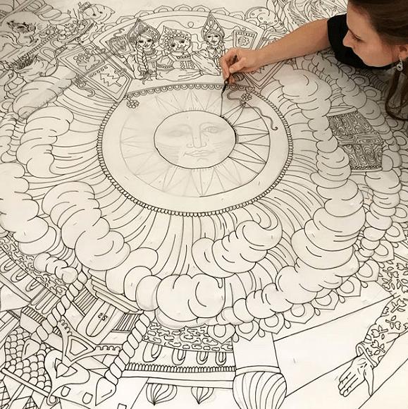 Батик: техника росписи наткани