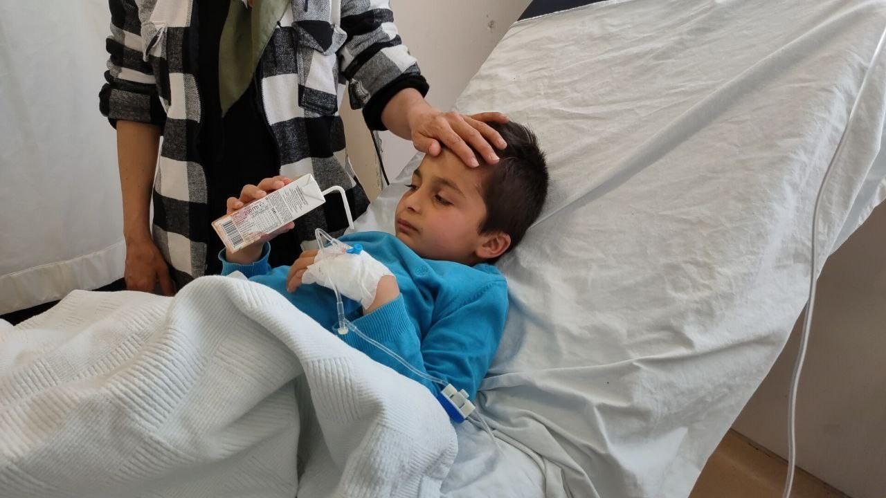 Burdur'da kaybolan 10 yaşındaki Kerim hastanede tedavi altında