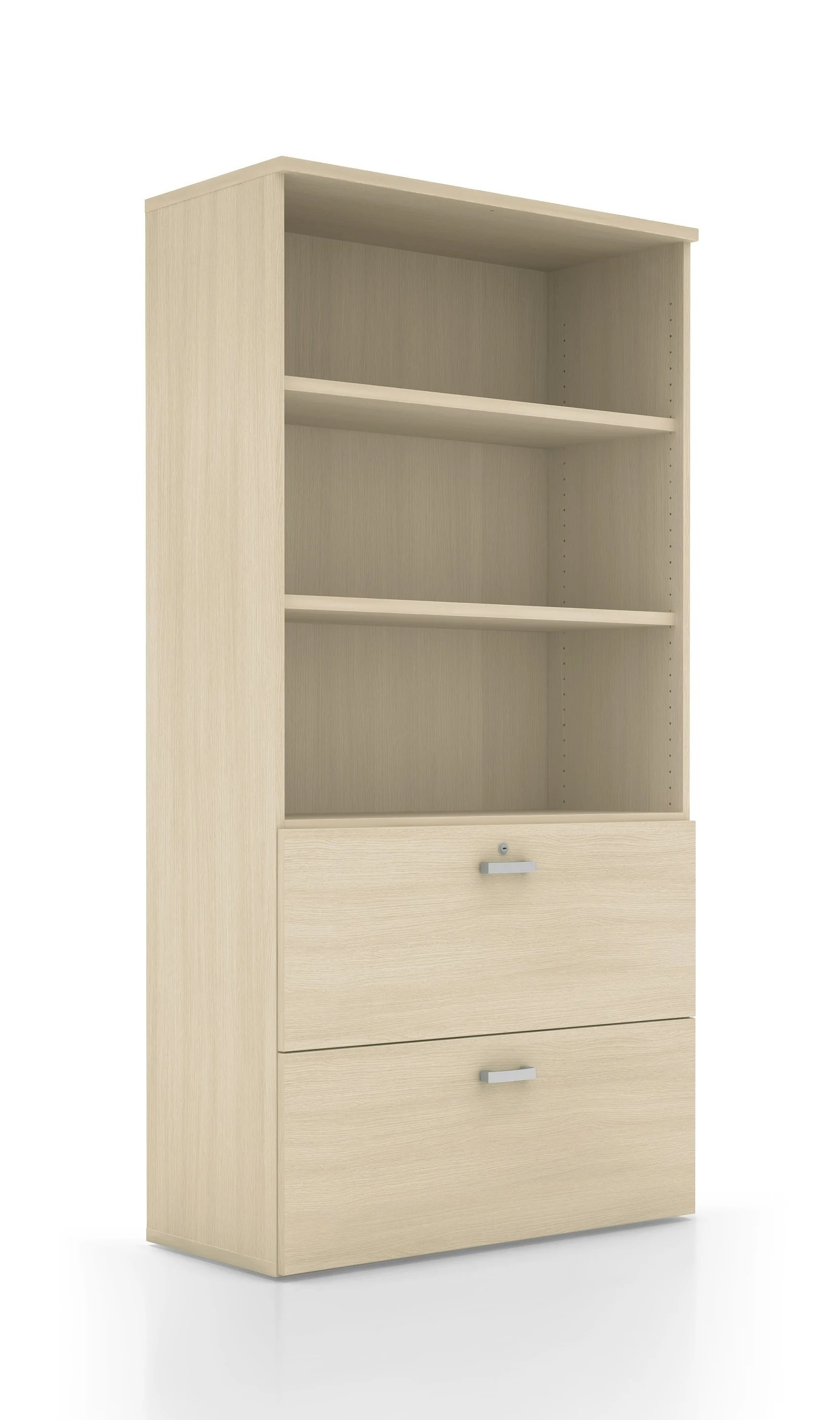 armoire bibliotheque et tiroirs pour dossiers suspendus mobel lin
