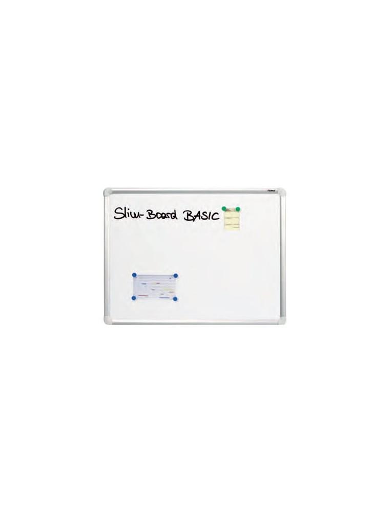 dahle tableau blanc laque 60x90 cm magnetique cadre al bureau valla c e maurice