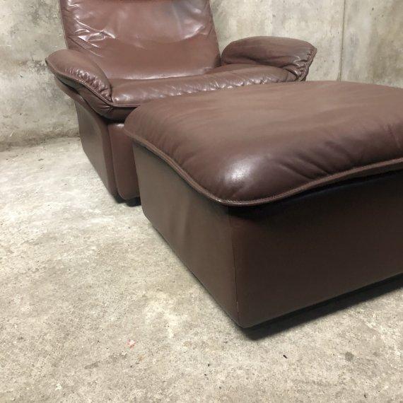 Desede DS49 Vintage Loungechair en Ottoman