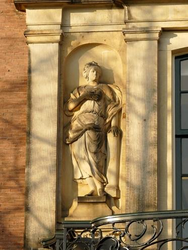 De 'Waarheid', detail balkon