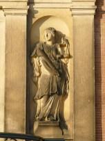 De 'Gerechtigheid' , detail balkon