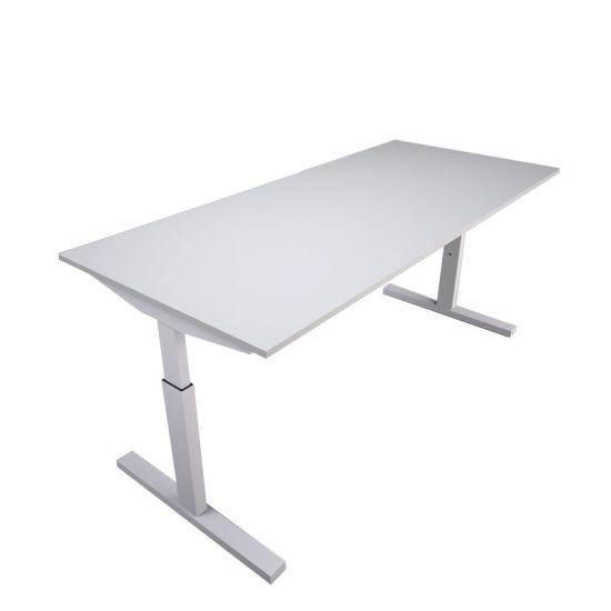 Pinta bureau met witte poot en wit blad   Bureaustoelen MKB