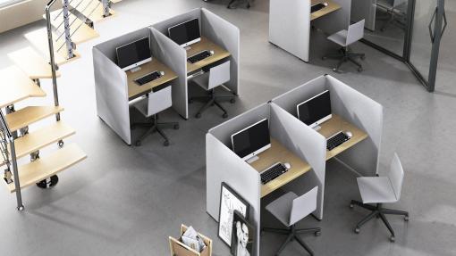 MY Space bureau en scherm + Stoel   Bureaustoelen MKB