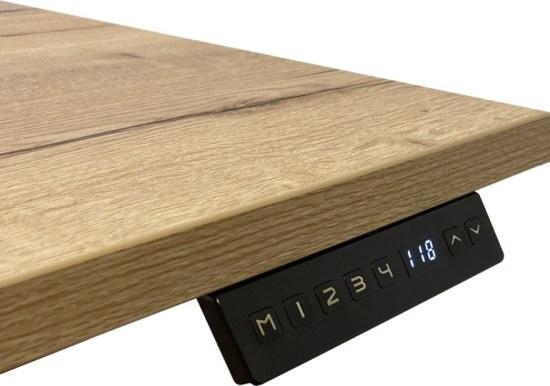 Flex Duo zit sta bureau, display met memory functies