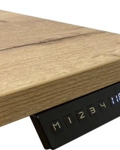 Flex Solo zit sta bureau, display met memory functies. Bureaustoelen MKB