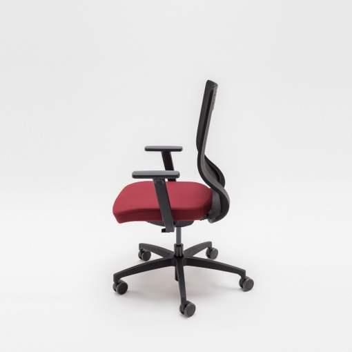 TanYa Office Bureaustoel, rode stof. Bureaustoelen MKB