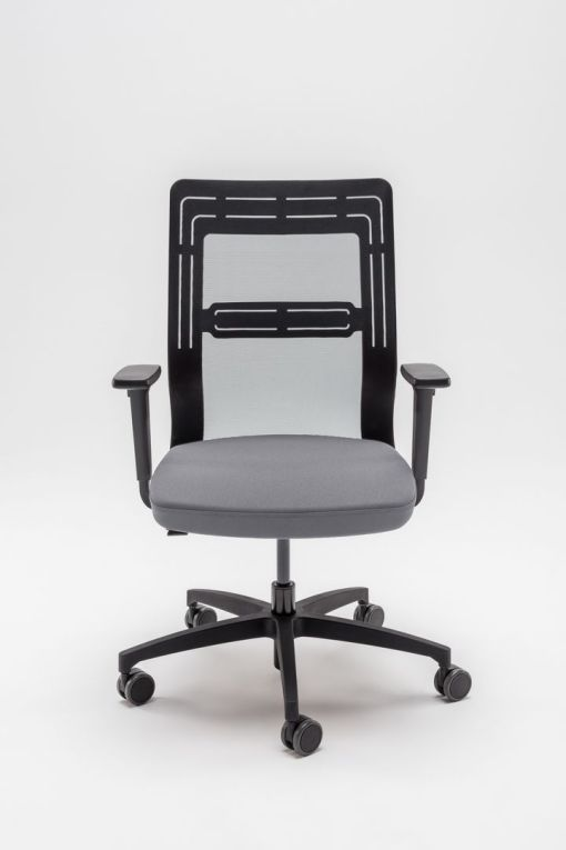 TanYa Office Bureaustoel, grijze stof. Bureaustoelen MKB