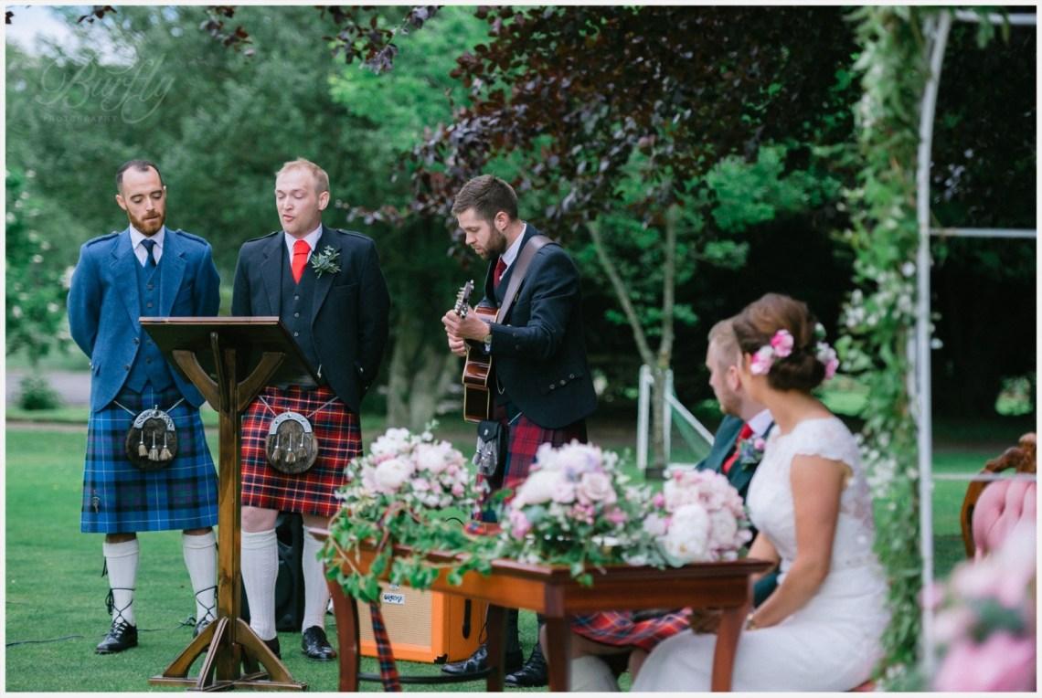 The Burn House Edzell Wedding 47